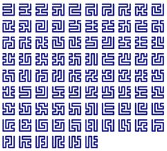 Hilbert curve sections.  Pretty.