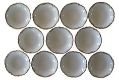 Limoges Salt Dishes, S/11 on OneKingsLane.com