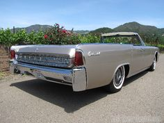 1963 Lincoln Continental Convertible - one of the favorites of my grandmother's owned cars from my childhood.