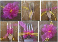 Make a tiny bow!