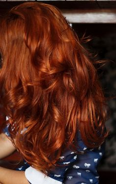 Luscious Red Hair!! Who dare wear Red!