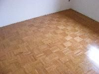 Refinished a parquet floor with waterbase finish classic wood do it yourself remodel of a bedroom with wood parquet flooring solutioingenieria Gallery