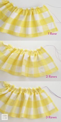 how to gather fabric # Sewing Techniques Couture Learn How to Gather Fabric Like a Boss - The DIBY Club Sewing Basics, Sewing Hacks, Sewing Tutorials, Sewing Crafts, Sewing Tips, Fabric Crafts, Learn Sewing, Diy Crafts, Barbie Clothes