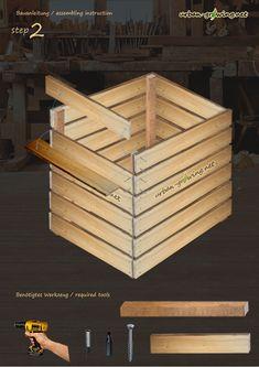 Bauanleitung Komposter Schritt2