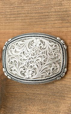 Montana Silversmiths Antiqued Pinpoints and Twisted Rope Trim Buckle | Cavender's
