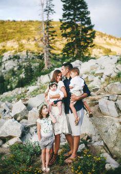 Family Portfolio | Jessica Janae Photography Bohemian Chic + Mountains Family Photo Session Clothing Ideas