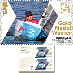 Large image of the ParalympicsGB Gold Medal Winner Miniature Sheet - Helena Lucas