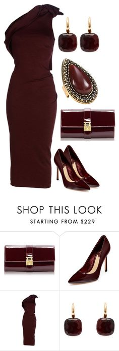 """Let The Festivities Continue #71"" by mscody ❤ liked on Polyvore featuring Florian London, B Brian Atwood, Dsquared2, Pomellato, Samantha Wills, party, festive, celebrate and festivities"