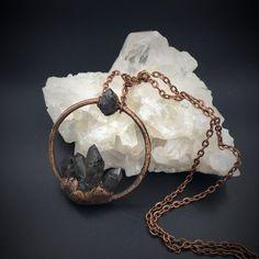 Tiebetan Quartz Necklace | Electroform Pendant