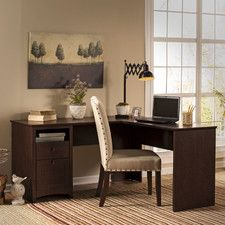 """Buena Vista 60"""" Executive L-Desk"""