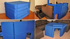 Magnetic Cushions Let You Easily Build a Structurally Sound Pillow Fort