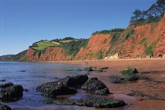 Ness Cove beach, Shaldon, South Devon