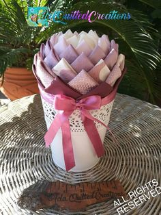 Flower in a pot fabric pot flower pot flower tabletop decor White Painted Furniture, Quilted Ornaments, Styrofoam Ball, Pink Christmas, Christmas Ornaments, Handmade Crafts, Etsy Handmade, Original Gifts, Teacher Appreciation Gifts