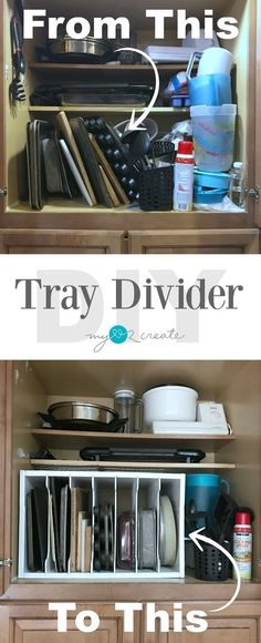 How to make a Tray divider using Dado Joints with free plans and a full picture tutorial, MyLove2Create