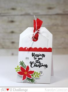 In My Creative Opinion: 25 Days of Christmas Tags - Day 1