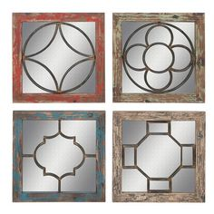 You'll love the 4 Piece Wood Metal Wall Décor Set at Wayfair - Great Deals on all Décor  products with Free Shipping on most stuff, even the big stuff.