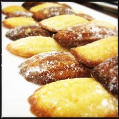 Lemon & Cardamom Madeleines