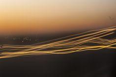 luces en la ruta