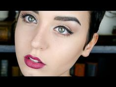 Audrey Hepburn Inspired Everyday Makeup Tutorial! itsjustjeorgia - YouTube