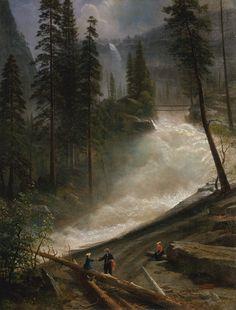 Albert Bierstadt - Nevada Falls, Yosemite
