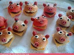 Pigs sandwich