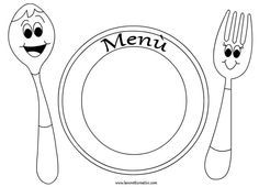 A Typical English Home: Printable Placemats For Kids To