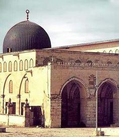 Al Aqsa Masjid. Jerusalem, Palestine.