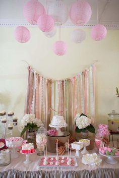 Zukate mesas dulces tem ticas mesas dulces pinterest - Manteles shabby chic ...