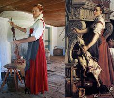 Flemish kitchenwoman by LenaTorp.deviantart.com on @deviantART