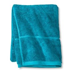 Botanic Fiber Solid Bath Towels - Threshold™ : 2 Bath Towels, 2 Hand Towels, 2 Washcloths - Monte Carlo Turquoise