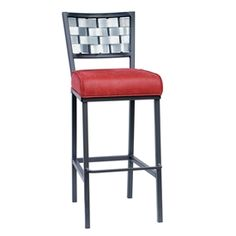 "Rushton Square Barstool 30"" by Stone County Ironworks"