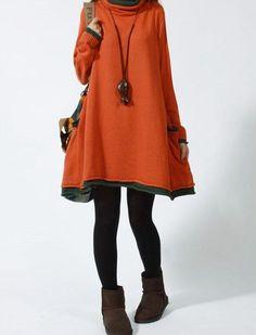 Casual+Long+Sleeved+Sweater+Dress+Knitwear+Blouse+by+deboy2000,+$59.99