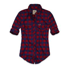 Girls Pacific Flannel Shirt
