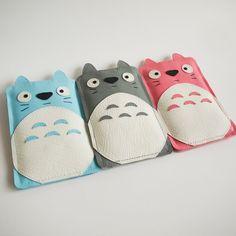 Totoro phone case!!