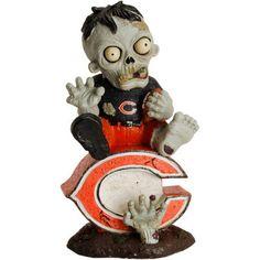 Chicago Bears Zombie Vintage Bobblehead Figurine