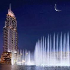 Dubai Fountain!