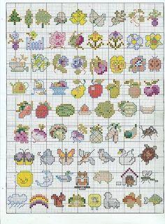 Schema punto croce Idee 160