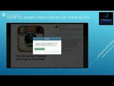 Instagram Social Media Marketing Training - YouTube