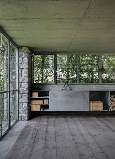 ACT Romegialli - Green box (renovation of a shed to a studio), Cerido 2010