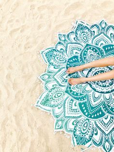 Spiritual Warrior round towels are both fun and high quality. These round mandala towels are the best summer accessory for the beach, picnic and as a throw. Mandala Towel, Spiritual Warrior, Athleisure Wear, Yoga Lifestyle, Summer Accessories, Good Vibes Only, Sands, Yoga Fitness, Outdoor Blanket