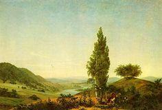 Friedrich, Caspar David: Der Sommer (Landschaft mit Liebespaar)
