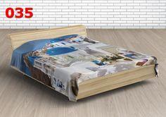 Pikowana narzuta na łóżko 220x240 cm Santorini - MAREX