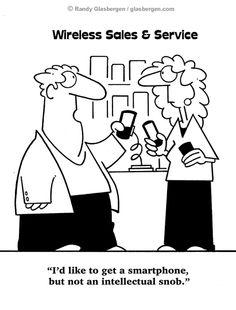 tech cartoons | funny cartoons about wireless technology | Randy Glasbergen - Todays ...