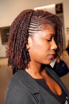 Gorgeous twists. To learn how to grow your hair longer click here - http://blackhair.cc/1jSY2ux