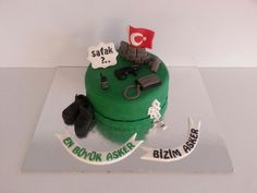 Asker pastası #cake #pasta #sweet #smile #candy #yummy #fondan #pastry #asker #soldier #türkaskeri #chef