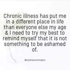 There are many chronic fatigue syndrome symptoms, which vary depending on levels of stress, how often you exercise, and how well you eat. Because of this, it can be difficult to diagnose chronic fatigue syndrome. Chronic Fatigue Symptoms, Chronic Migraines, Chronic Fatigue Syndrome, Welcome To My Life, Chronic Illness Quotes, Crohns Disease Quotes, Ankylosing Spondylitis, Hypermobility, Trigeminal Neuralgia
