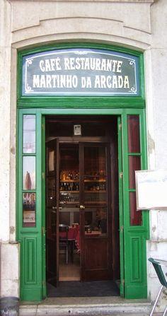 Café Martinho da Arcada (Lisbon) - Fernando Pessoa coffeehouse