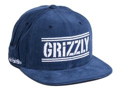 Hunters Navy Snapback Cap by GRIZZLY