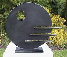 Keramische Kunst Fascinating Backyard Sculpture - Wall Concepts - # Backyard S Metal Art Sculpture, Steel Sculpture, Outdoor Sculpture, Outdoor Art, Abstract Sculpture, Sculpture Ideas, Garden Sculptures, Art Sculptures, Bronze Sculpture