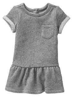 Marled sweatshirt dress Product Image  12-24 months